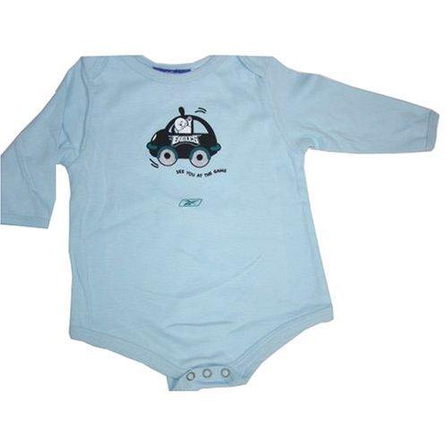 Philadelphia Eagles NFL Reebok Baby/Infant Blue See You at the Game Creeper/Onesie (Creeper Reebok Nfl Infants)