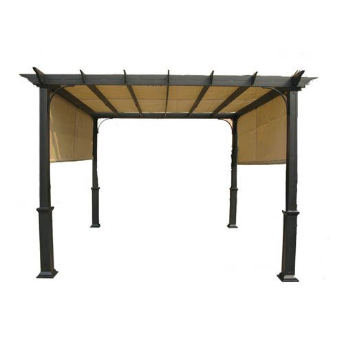 Cheap Garden Winds OPEN BOX Replacement Canopy Top Cover for 10 FT Deluxe Pergola – RipLock 500
