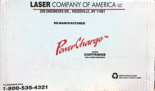 POWER CHARGE TONER CARTRIDGE LJ 4000 FOR USE IN HP LASER JET 4000, 4000T, AND 4000TN by POWER CHARGE