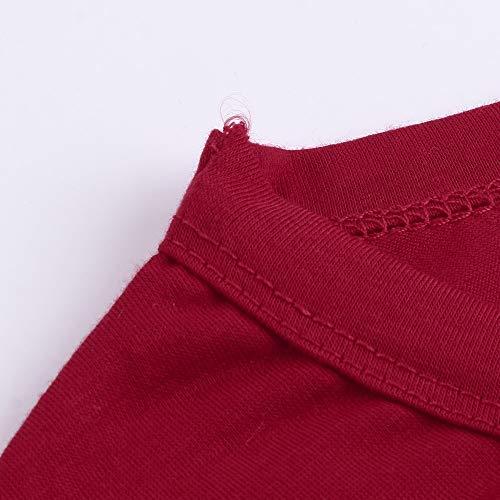 De Porter Manches Pantalon Dames Noël Longues Dessin À enfant Parent Rouge Chemise Rayé Amuster Modèles Mères Animé Sq1WPpw