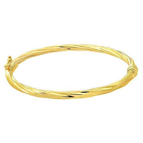 Citerna or jaune 9 carats-Jonc Ø 55 mm