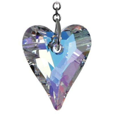 d398ebf4e Swarovski Hanging Crystal Suncatcher/Rainbow Maker with 27mm Aurora  Borealis Wild Heart Crystal: Amazon.co.uk: Kitchen & Home