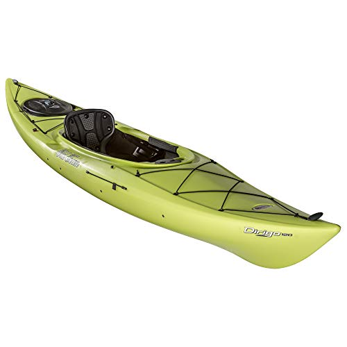 Old Town Dirigo 120 Recreational Kayak, Lemongrass, 12 Feet