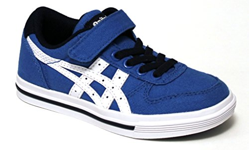 Asics Aaron C azul blanco Azul