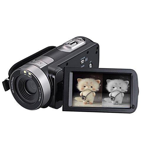 Ir Digital Cameras (SEREE HDV-301PL FHD IR Infrared Camcorder 1080P Night Vision Digital Video Camera 16X Digital Zoom 3 Inch Touch Screen Portable DV Recorder)