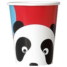 9oz Birthday Panda Party Cups 8ct,