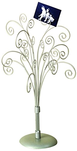 16 Silver Toned Photo Tree / Jewelry Holder