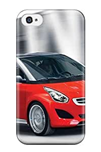 XiFu*MeiSlim Fit Tpu Protector Shock Absorbent Bumper Smart Forfour 30 Case For Iphone 4/4sXiFu*Mei