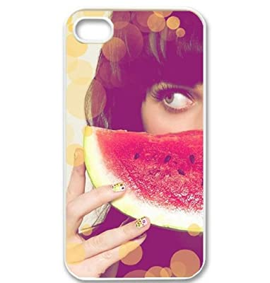 Katy Perry logo background iPhone 4/4s cover case for her fans