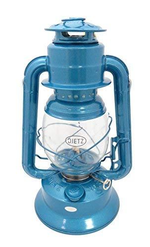 Dietz #30 Little Wizard Oil Lamp Burning Lantern Blue (Small Tank)