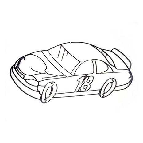Amazon Com World Unique Imports Nc 0944 Race Car Or Nascar Metal