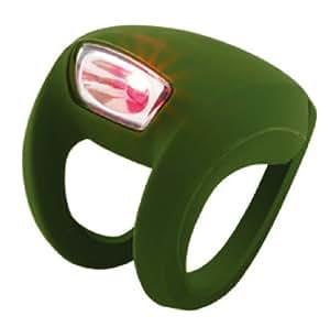 Knog Frog Strobe Rr Bike Lights, Olive Green