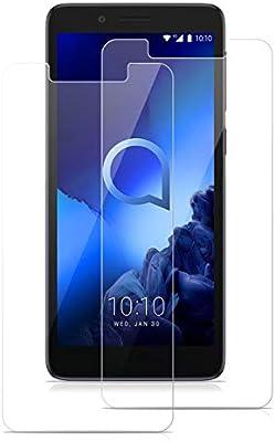 """Protector de Cristal de Vidrio Templado para Alcatel 1C 5.3/"""" 3G"""