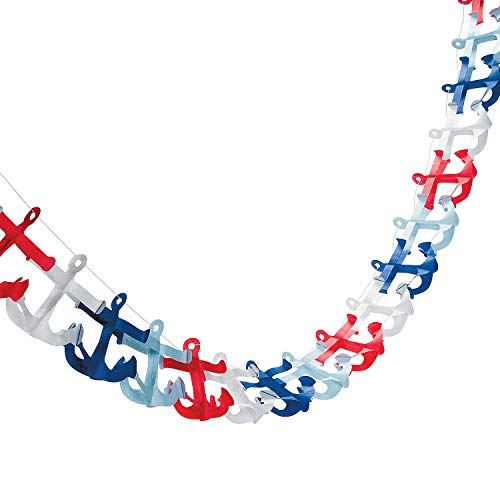 Nautical Anchor Garland (9 Feet. X 4 3/4