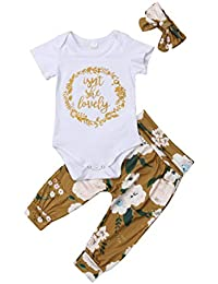 Isnt She Lovely 0-18M Infant Newborn Baby Girl Short...