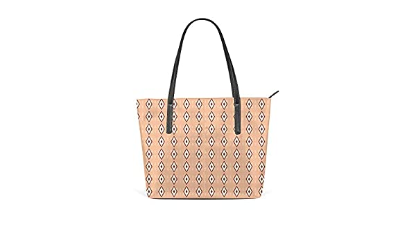 Kuizee Shoulder Tote Bags Handbags PU Leather Decoration For Women Casual School Shopping 15.7In