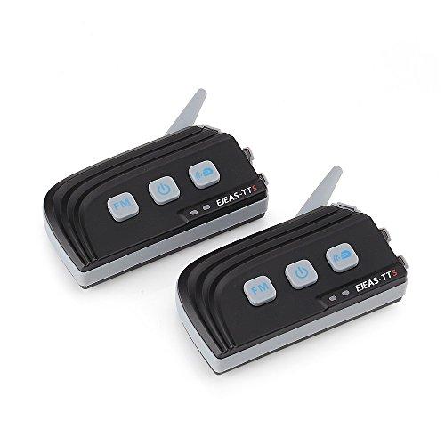 EJEAS 2PCS TTS Bluetooth Intercom Full Duplex Interphone MAX