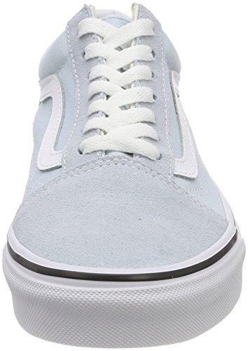 Black Old Skool Vans Womens Black Blue 7227 Baby Platform Sneakers TAqAw6