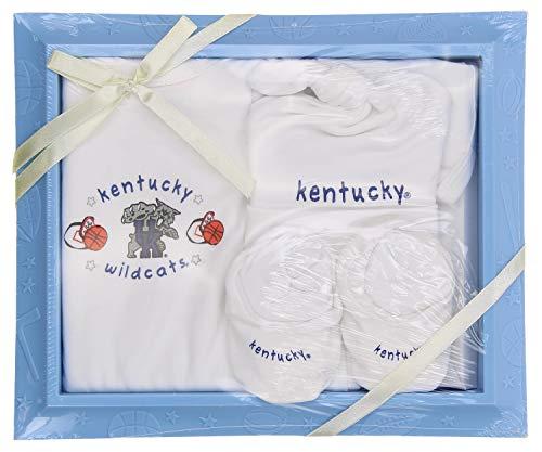 Kentucky Wildcats NCAA 4-Piece Newborn Picture Frame Gift Set 0-6 Months
