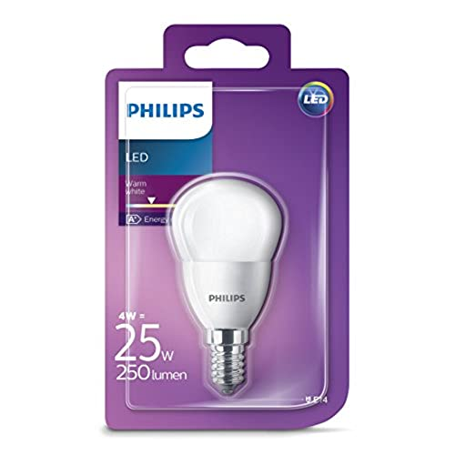 Philips Ampoule LED 25W P45 E14 WW FR ND 1BC//4 NEW