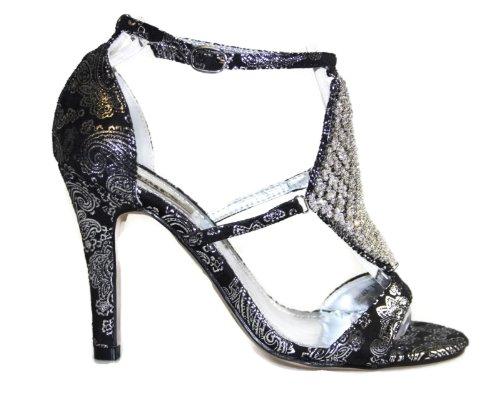 citydress24 Women's Fashion Sandals r9HUcs