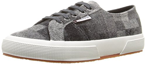 Superga Womens 2750 Polywoolfanw Fashion Sneaker, Gray Wool Deal (Large Image)