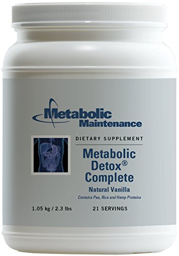Metabolic Maintenance - Metabolic Detox Complete Vanilla - Cleansing Support Powder, 2.3 lbs by Metabolic Maintenance