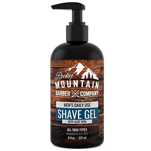 Mens Shave Gel Shaving Types