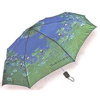 LaSelva Designs Monet Waterlilies Folding Umbrella