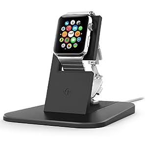 Twelve South HiRise - Base de carga para Apple Watch, negro