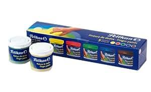 Pelikan - Set de pintura a dedos 40 ml, 5 colores (63302)
