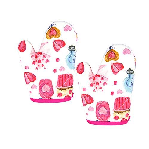VMNlooking Cupcake Print Mitts Children product image