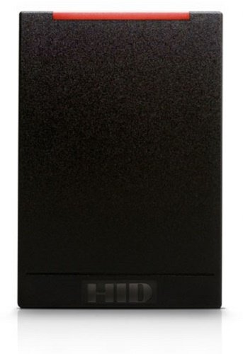 HID iClass R40 6120 Wall Switch Reader, Black - 6120CKN0000 by HID