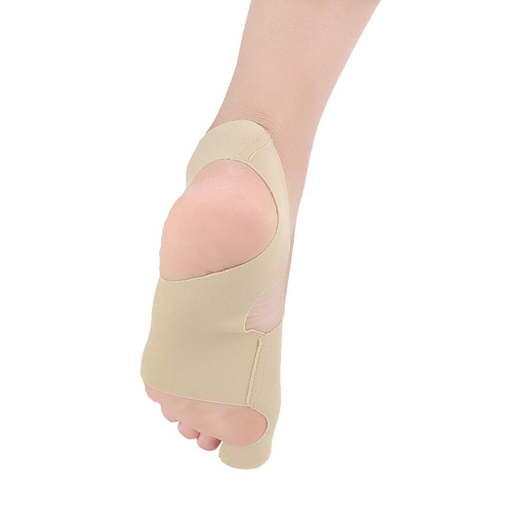 Amazon.com: SUPVOX Pair of Big Toe Bunion Corrector Big Toe Straightener Hallux Valgus Corrector Breathable Thumb Correction (Khaki Size S): Health ...