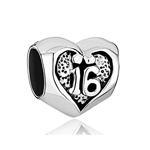 CharmsStory Sterling Silver Birthday Bracelets