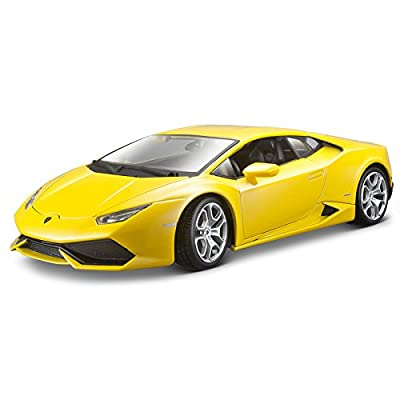 Bburago 1:18 Scale Lamborghini Huracan Diecast Vehicle (Colors May Vary): Toys & Games