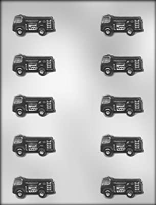 CK Products 1-3/4-Inch Fire Truck Chocolate Mold