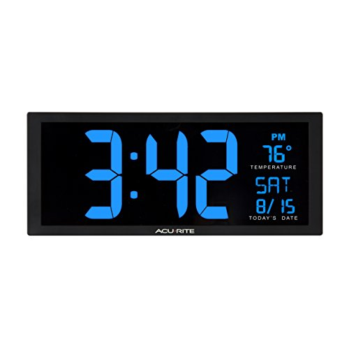 AcuRite-75152M-Oversized-Blue-LED-Clock-with-Indoor-Temperature-Date-Fold-Out-Stand-145