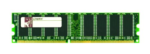 Kingston Technology ValueRAM 1 GB Desktop Memory Single (Not a kit) DDR 266 MHz (PC 2100) 184-Pin DDR SDRAM KVR266X64C25/1G