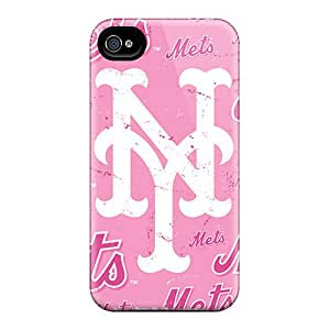 High Quality Mobile Cases For Iphone 4/4s With Unique Design HD New York Mets Pictures SherieHallborg