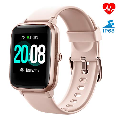 LIFEBEE Smartwatch, Fitness Armband Fitness Tracker Voller Touch Screen Smart Watch IP68 Wasserdicht Fitness Uhr mit Pulsuhren Schrittzähler Damen Herren Armbanduhr Sportuhr für iOS Android