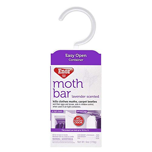 Enoz Moth Bar, Lavender Scent (Case of 6)
