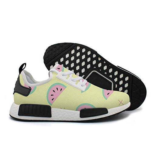 HSJDAPOCOAQ Sweet Watermelon Life Girls' Breathable Sports Shoe by HSJDAPOCOAQ