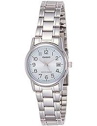 Relógio Feminino Casio LTP-V002D-2BUDF-BR - Prata