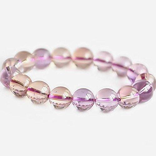 JP_Beads Delicate 10mm Ametrine Bracelet, Purple Stone Bracelet, Bead Bracelet Women, Ametrine Jewelry, Ametrine Crystal Bracelet, Ametrine Beads