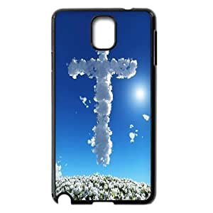 C-EUR Customized Print Jesus Christ Cross Hard Skin Case Compatible For Samsung Galaxy Note 3 N9000