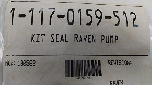 117-0159-512 RAVEN SEAL FOR PUMPS WITH PLASTIC HEADS by Raven