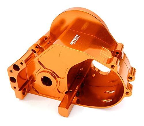 Integy RC Model Hop-ups C26833ORANGE Billet Machined Gear Box Housing for HPI 1/10 Jumpshot MT, SC & ST