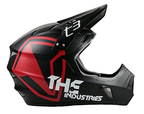 THE Industries Youth T3 Shield BMX and Mountain Bike Helmet,