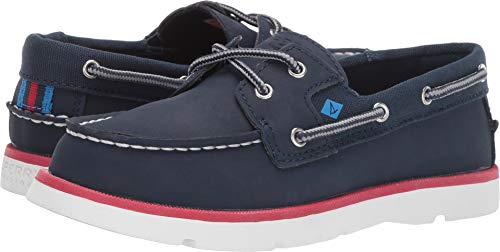 SPERRY Boy's, Leeward Sport Boat Shoes Navy 4.5 M ()